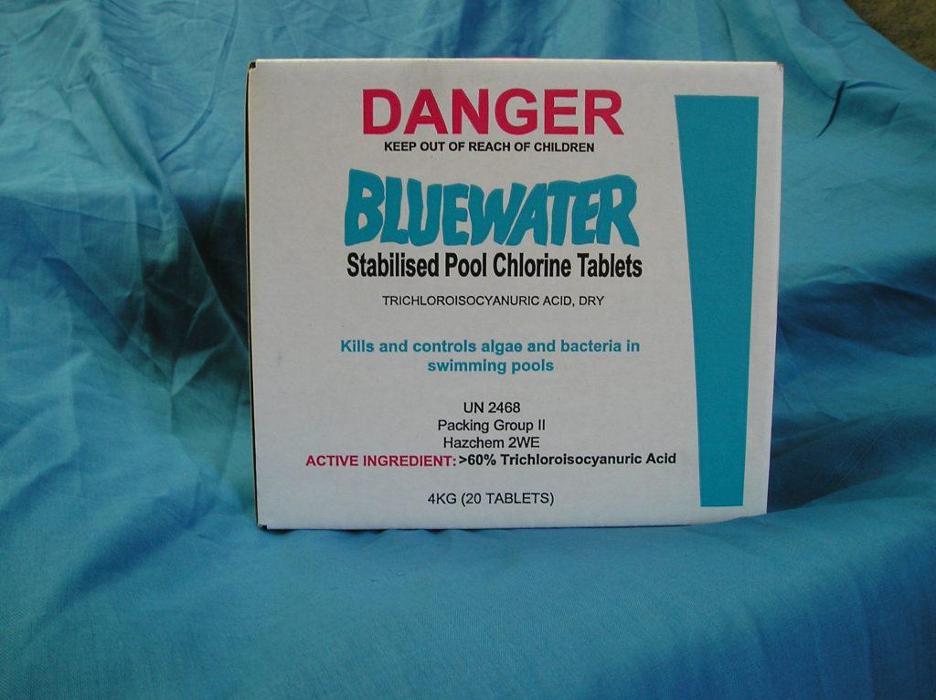 Bluewater Chlorine Tablets 20 Massey Unichem Pharmacy